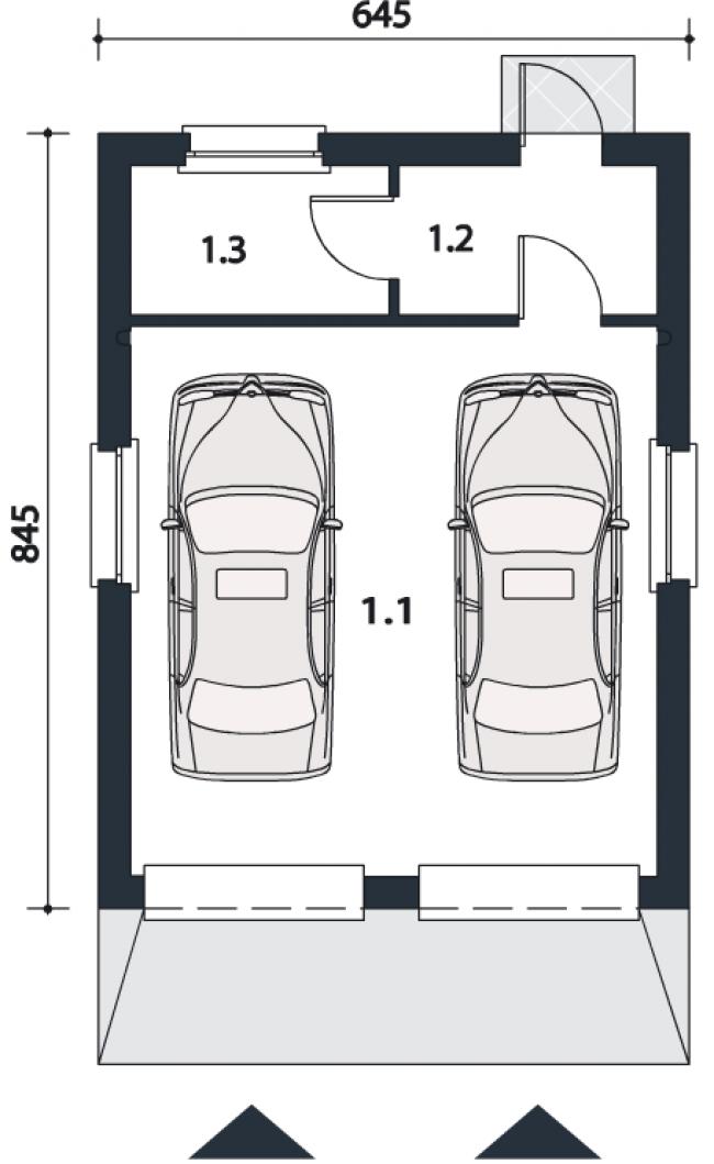 Проект гаража-111