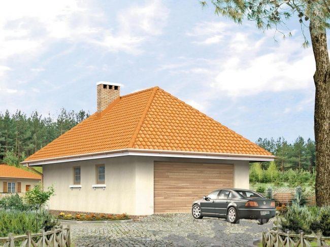 Проект гаража-117