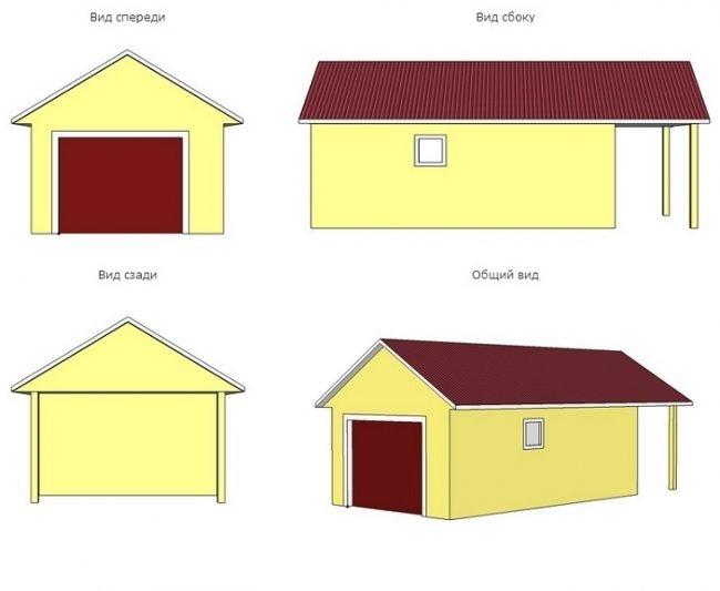 Проект гаража-45