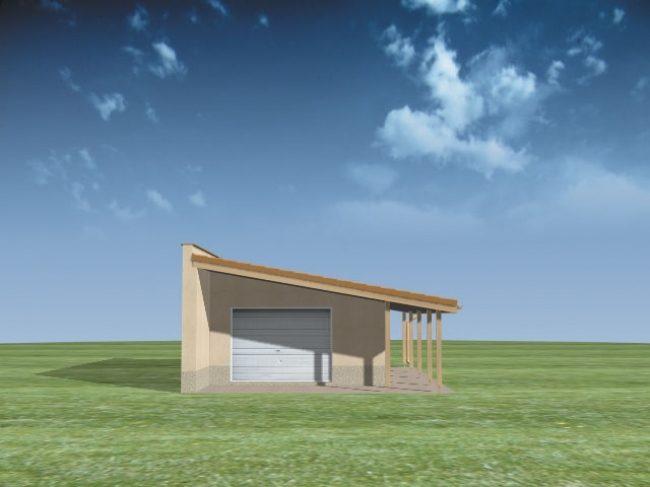 Проект гаража-126