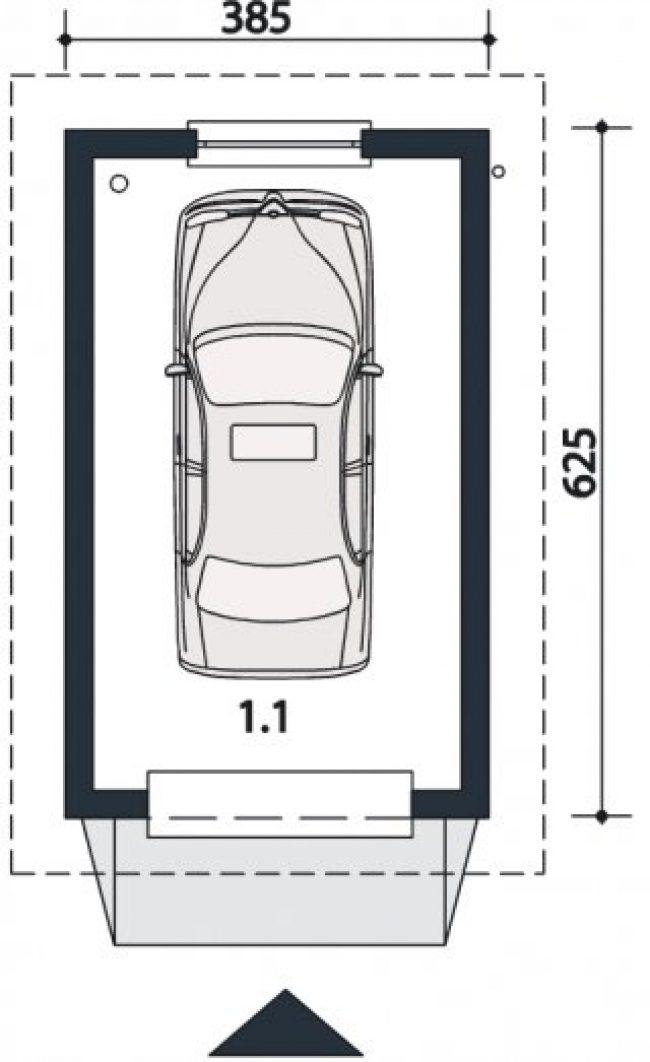 Проект гаража-24
