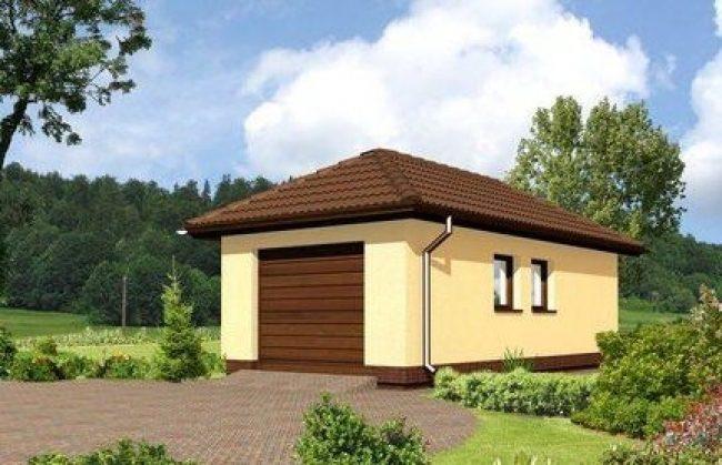 Проект гаража-43
