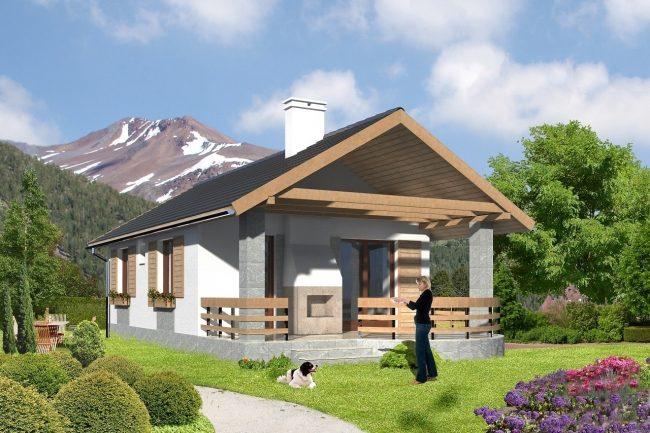 Проект дома-366
