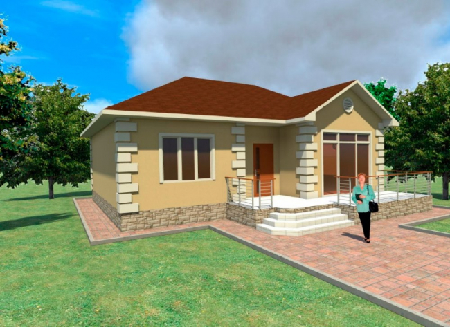 Проект дома-440