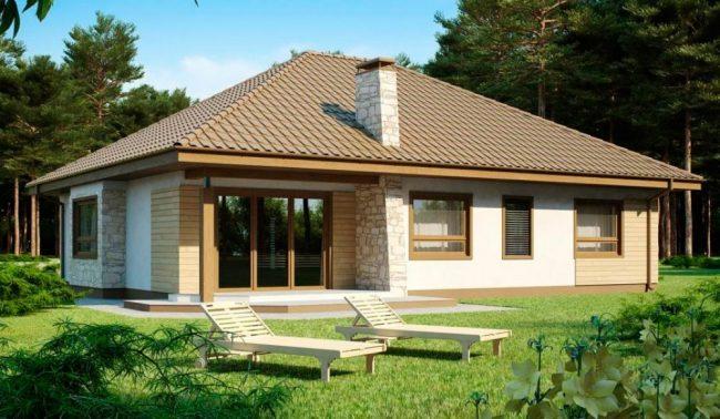 Проект дома-520