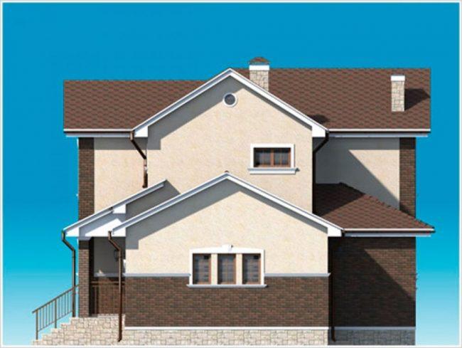 Проект дома-497
