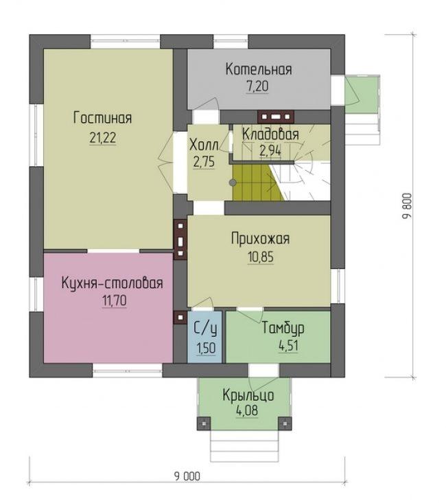 Проект дома-49