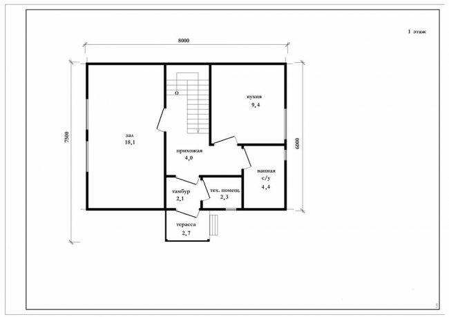 Проект дома-376