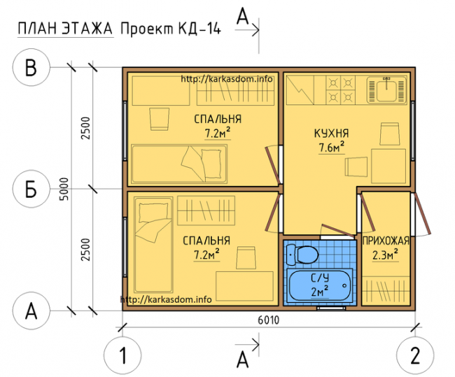 Проект дома-711