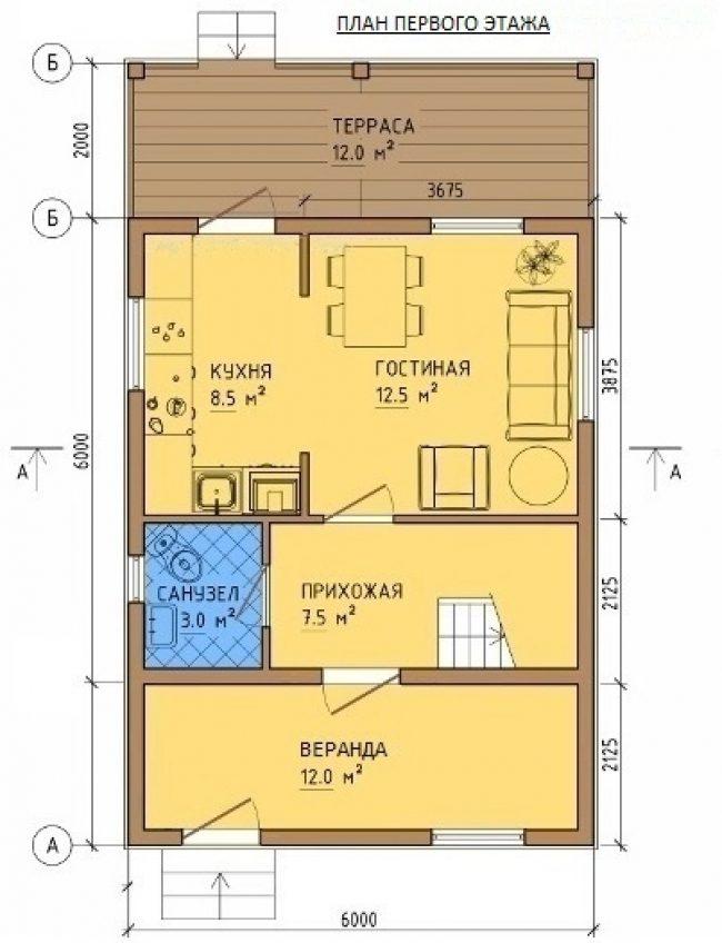 Проект дома-336
