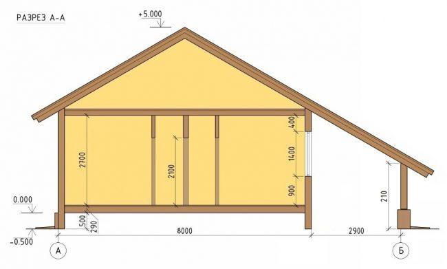 Проект дома-342