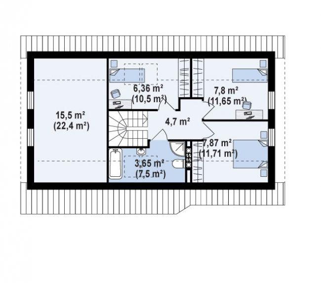 Проект дома-396