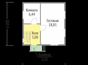Проект дома-523