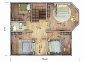Проект дома-647