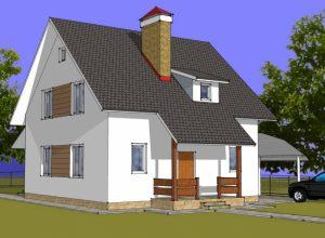 Проект дома-753