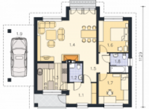 Проект дома-744