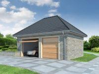 Проект гаража-175