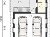 Проект гаража-183