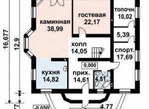 Проект дома-124