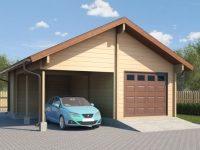 Проект гаража-161