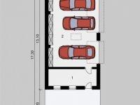 Проект гаража-239