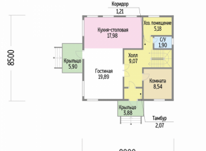Проект дома-628