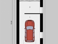 Проект гаража-75