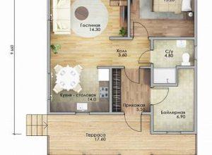 Проект дома-600