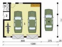 Проект гаража-192