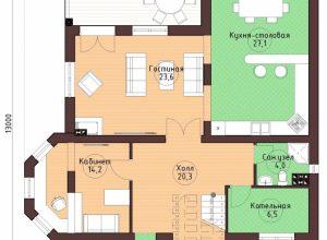 Проект дома-85