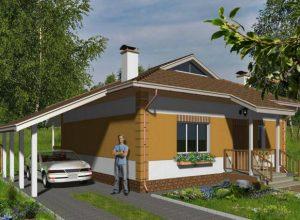 Проект дома-629
