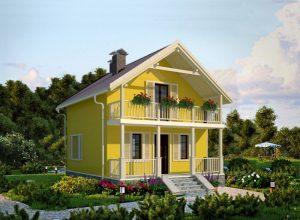 Проект дома-566