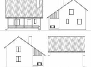 Проект дома-606