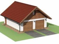 Проект гаража-154
