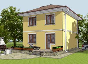 Проект дома-588
