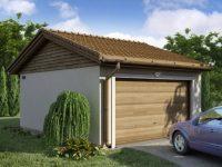 Проект гаража-60