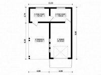 Проект гаража-210