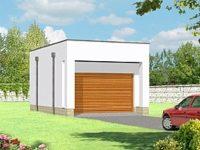 Проект гаража-72