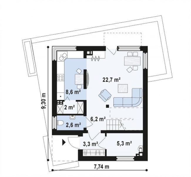 Проект дома-257