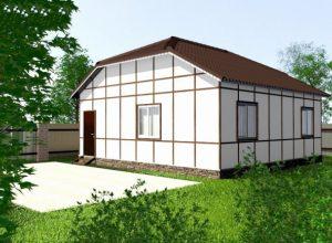 Проект дома-399