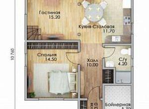 Проект дома-611