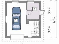 Проект гаража-82