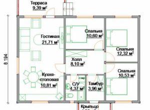 Проект дома-389