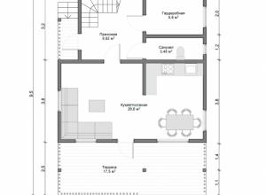 Проект дома-382
