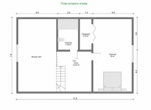 Проект дома-501