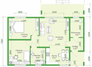 Проект дома-622