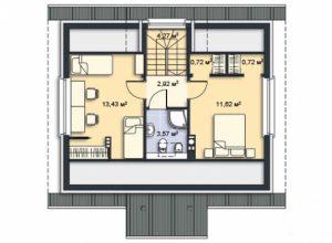 Проект дома-445