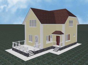 Проект дома-405