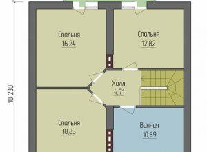 Проект дома-43