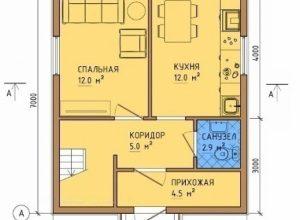 Проект дома-333